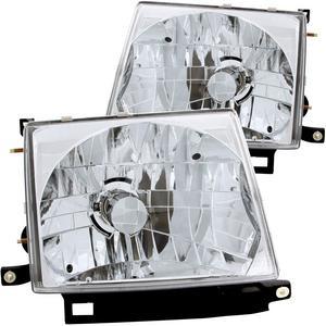 Anzo USA 121132 Crystal Headlight Set Fits 97-00 Tacoma