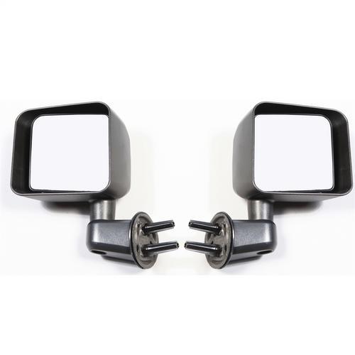 Rugged Ridge 11002.21 Door Mirror Kit Fits 07-18 Wrangler Wrangler (JK)