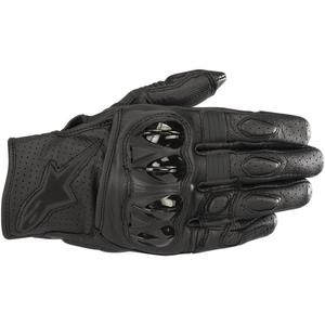 Alpinestars Celer V2 Leather Gloves Black/Black (Black, XXX-Large)