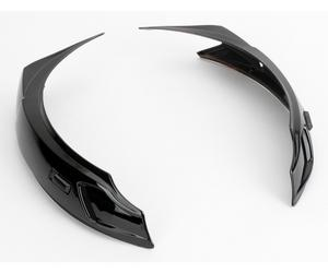 Icon 0133-0211 Helmet Super Vent Set  - Black