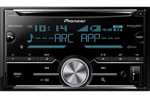 Pioneer FH-X830BHS CD Receiver with Built-In Bluetooth & HD Radio