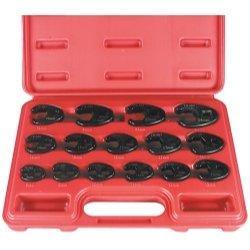Astro Pneumatic 15pc. Professional Metric Crowfoot Wrench Set (AST-7115)