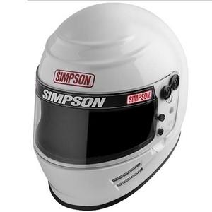 SIMPSON SAFETY 2X-Large White Voyager Helmet P/N 6100051