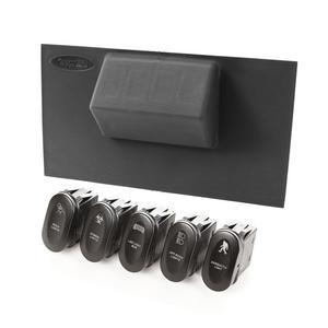 Rugged Ridge 17235.72 Lower Switch Panel Kit Fits 07-10 Wrangler (JK)