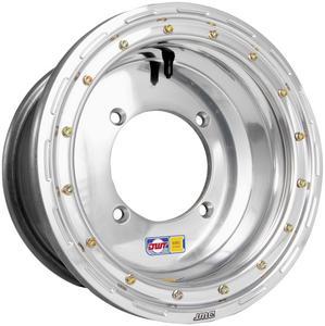 Douglas Wheel Tire UL12074356P Ultimate Beadlock Utility Wheel - 12x7 - 4+3 Offset - 4/156 - Polished