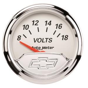 AutoMeter 1391-00408 Chevy Vintage Electric Voltmeter Gauge