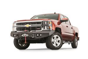 Warn 95800 Ascent Front Bumper Fits 14-15 Silverado 1500