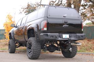 Fab Fours CH08-W1450-1 Heavy Duty Rear Bumper