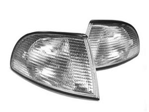 96-99 AUDI A4 B5 OEM FACTORY STYLE EURO REPLACEMENT CORNER LIGHTS - CLEAR