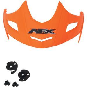 AFX 0132-0660 Helmet Peak with Screws for FX-50 - Safety Orange