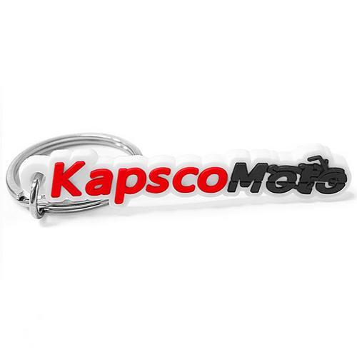Krator NEW Chrome Skull Skeleton Shift Peg Cover for Harley Davidson Motorcycle Cruiser + KapscoMoto Keychain