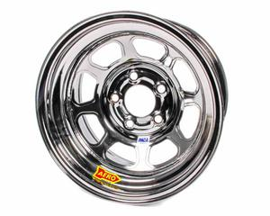AERO RACE WHEELS 52-Series 15x8 in 5x5.00 Black Chrome Wheel P/N 52-985030BLK