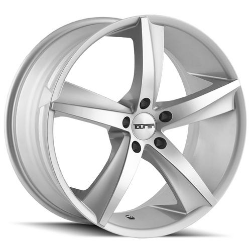 "Touren TR72 20x10 5x120 +20mm Silver Wheel Rim 20"" Inch"