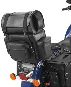 All American Rider 90/93 Ameritex Bikepack with Detachable Travel Case/Sissy Bar Bag - Standard - Classic (No Studs)