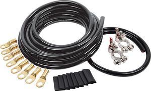 Allstar Performance 4 Gauge Black/Black Battery Cable Kit P/N 76115