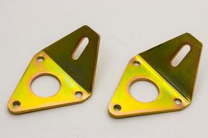 AFCO RACING PRODUCTS Steel Bolt-On Motor Mount 2 pc Chevy V8 P/N 80651