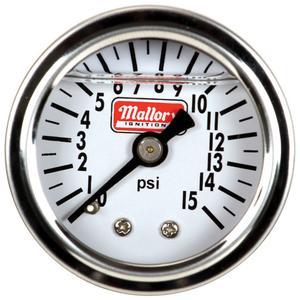MSD Ignition 29138 Fuel Pressure Gauge