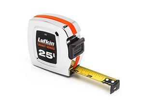 "Lufkin L925 1"" x 25' Chrome Legacy Series Tape Measure"