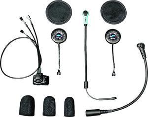 J&M HS-EHI801-UNV-XHO Elite Series Helmet Headset - Open/Flip/Full Face Style