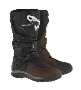 Alpinestars Corozal Adventure Drystar Oiled Leather Boots (Brown, 12)