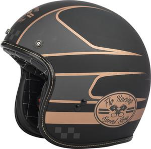 Fly Racing .38 Wrench Helmet Black/Copper (Black, XX-Large)