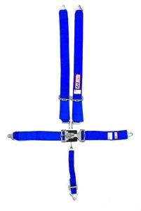 RJS SAFETY Blue Bolt-On 5 Point Latch and Link Harness P/N 1127803