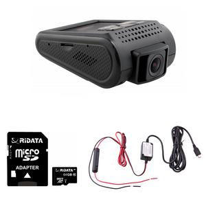 Spy Tec A119S DashCam Sony IMX291 60fps 1080p Car Dash Cam w/ 64GB MicroSD Card and Mini USB 10 Foot Hardwire Kit