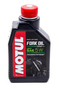 Motul USA 5W Fork Oil Expert Light Shock Oil 1 L P/N 105929