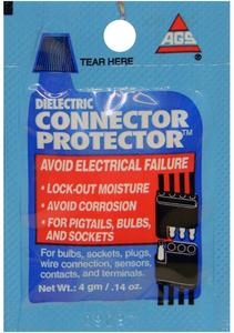 AGS Connector Protector, Single-Use 4g pouches, pack of 100 (CP-1-100)