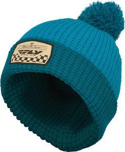 Fly Racing Adult Beanie Hat Drift Blue