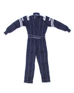 SIMPSON SAFETY Black/White Small Legend ll 1 Piece Driving Suit P/N L202171