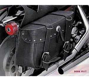 All American Rider 9056RVT Ameritex Large Slant Saddlebag - Riveted
