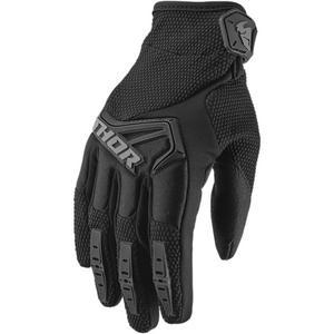 Thor Spectrum Gloves (Black, X-Small)
