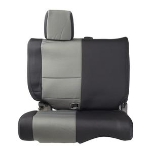 Smittybilt 46522 Neoprene Seat Cover For 08-12 Wrangler JK Black/Charcoal Rear