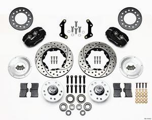 WILWOOD Dynalite 4 Piston Front Brake System Mopar A/B/E-Body P/N 140-11019-D
