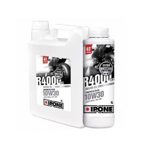 Ipone 800025 Ipone R4000 RS Semi-Synthetic Lubricant - 10W-30 - 4L