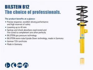 Bilstein Shocks 46-190000 Complete Suspension Kit; B12; Pro-Kit