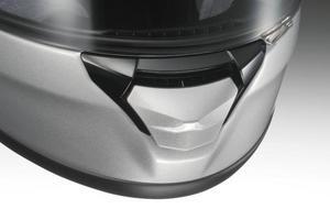 Shoei 0217-2137-00 Lower Air Intake Vent for Neotec Helmet - M/D Gray