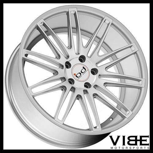 22 Blaque Diamond Bd2 Silver Concave Wheels Rims Fits Audi D4 A8