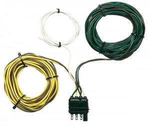 Hopkins Towing Solutions 48245 4-Wire Flat Trailer Y Harness - 20ft.