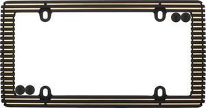Cruiser Accessories 58300 Fashion License Plate Frame