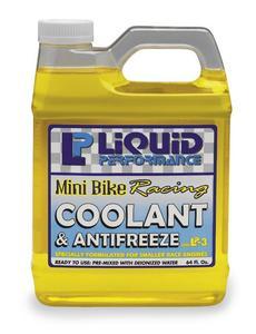 Liquid Performance Racing 924 Mini Bike Coolant and Anti-Freeze - 128oz.