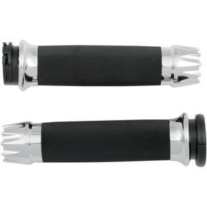 Avon Grips CC-85-CH-EX Excalibur Custom Grips - Chrome
