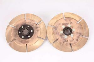 ACE 1-1/8 x 10 Spline 7-1/4 in Diameter Clutch Disc 2 pc P/N R725103K2