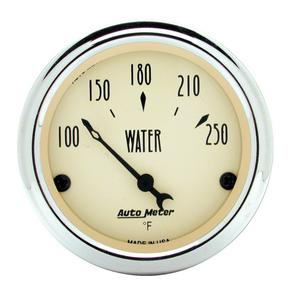 AutoMeter 1837 Antique Beige Water Temperature Gauge