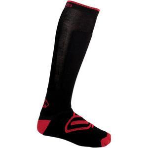 Arctiva Insulator Socks Black/Red (Black, Small - Medium)