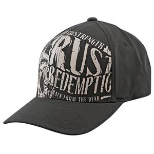 Speed & Strength Rust and Redemption Ball Cap (Black, Large - X-Large)
