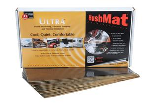 Hushmat 10400 Ultra Insulating/Damping Material Floor/Dash Kit