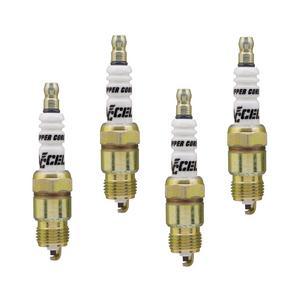 ACCEL 0576-4 U-Groove Resistor Spark Plug