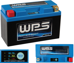 WPS Featherweight Lithium Battery CCA 105 Positive on Right HJTZ5S-FP-IL